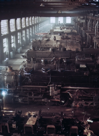 Chicago and Northwestern railroad locomotive shops, Chicago 2