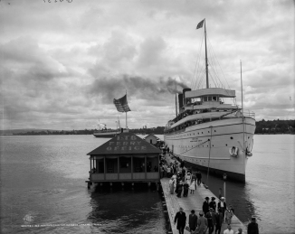 S.S. Northland [sic] at Harbor Springs, Mich