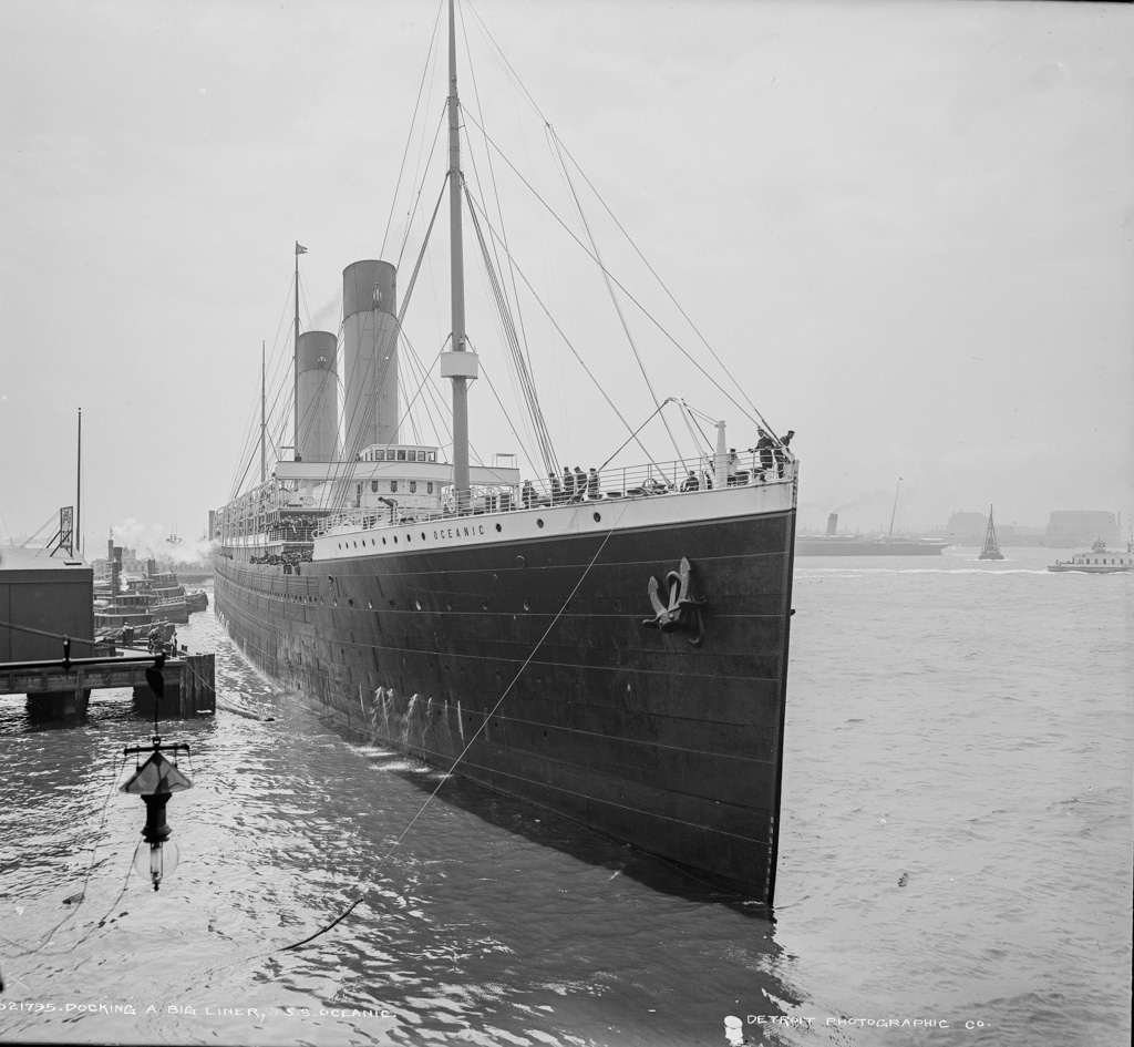 Rms Olympic: Mechanical Landscapes