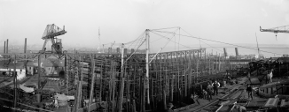 Cramps Shipyard from Retvizan