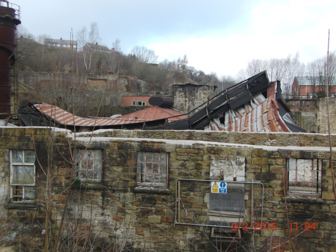Foundry roof Jan 2015