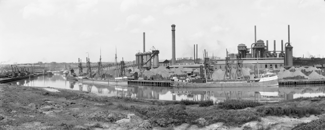 American Steel and Wire Company's plant, Cleveland, Ohio pano